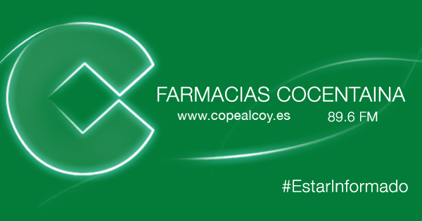 Farmacias de Guardia en Cocentaina