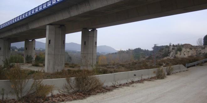 Fomento no asumirá los daños de la Autovía en Cocentaina