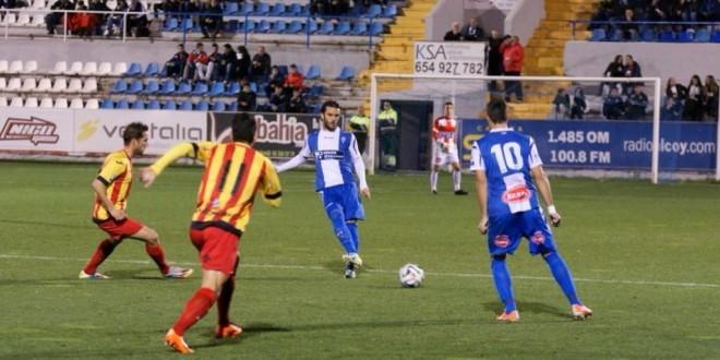El Alcoyano remonta y vence al Lleida