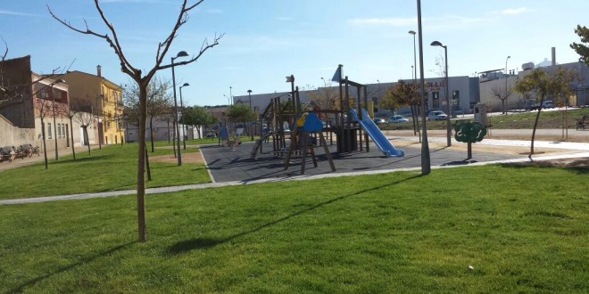 Muro inaugura el Parque de Fontanelletes