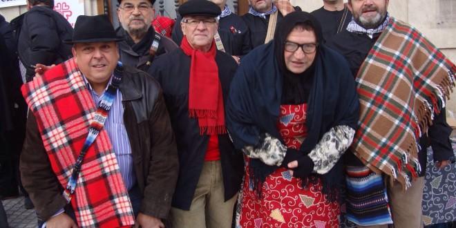 Els Castañers llegan a la Plaza de España