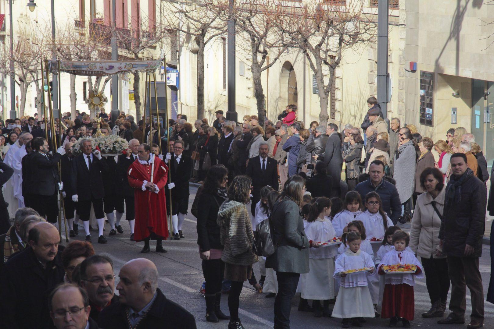 Procesión del Jesuset por las calles del Centro