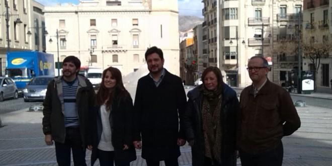 Esquerra Unida presenta sus candidatos por Alicante