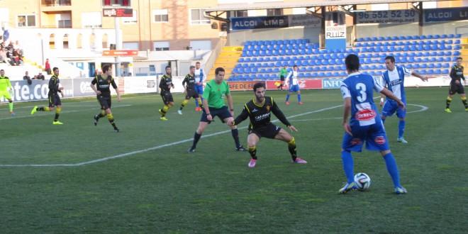 El Alcoyano empata ante el Zaragoza B