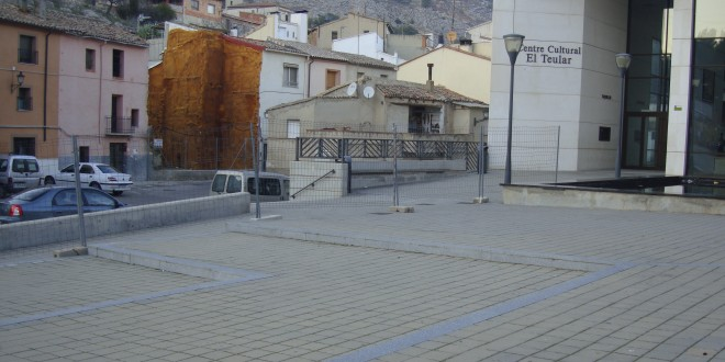 Cocentaina remodela la Plaza del Teular