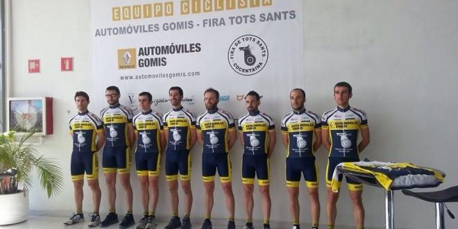 Presentado el equipo ciclista Automóviles Gomis – Fira de Tots Sants