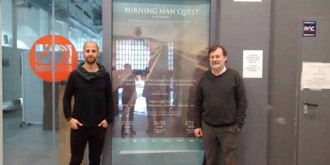 """Isra García presenta su documental """"Burning Man Quest"""""""
