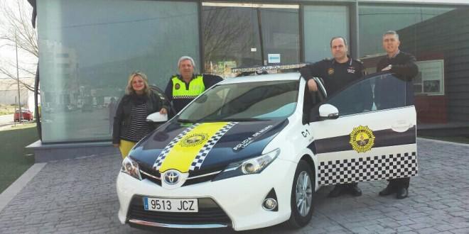 Nuevo vehículo para la Policía Local de Muro