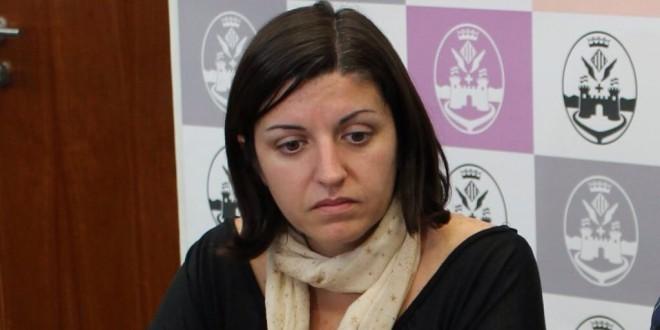 Estefanía Blanes, candidata de Guanyem a la alcaldía de Alcoy