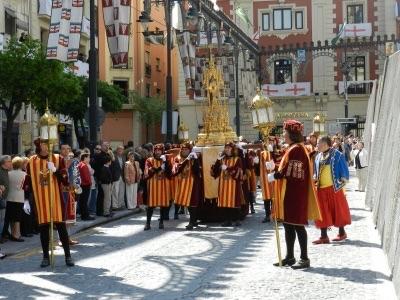 La reliquia de San Jorge de la Catedral de Valencia llegará a Alcoy