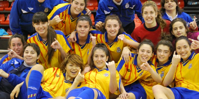 Dos jugadoras del Santa Rosa se proclaman subcampeonas de España sub 21