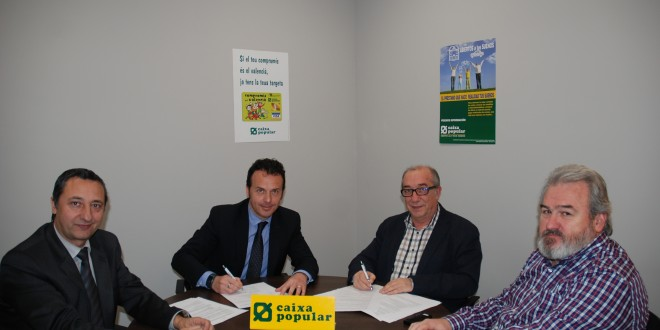 Caixa Popular firma un convenio con los autónomos