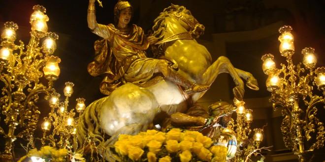 San Jorge toma las calles de Alcoy