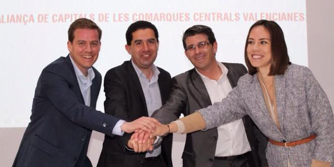 Nace la alianza socialista de las Comarcas Centrales