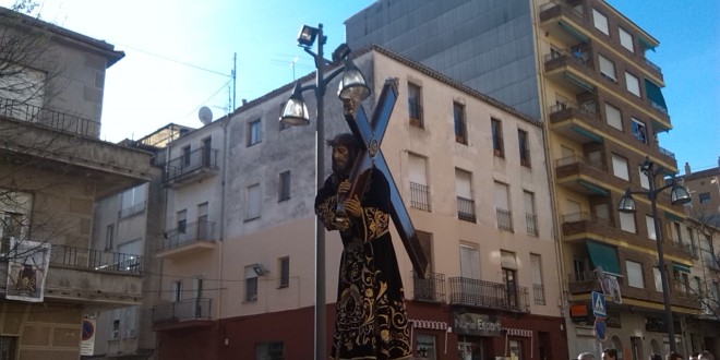 Sentido Vía Crucis en Cocentaina