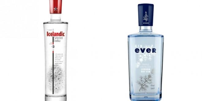 Reconocimiento para Icelandic Premium Vodka y Gin Ever