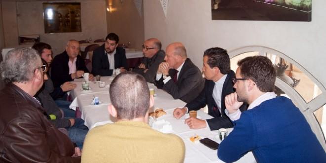 Rafa Miró se reúne con los Autónomos