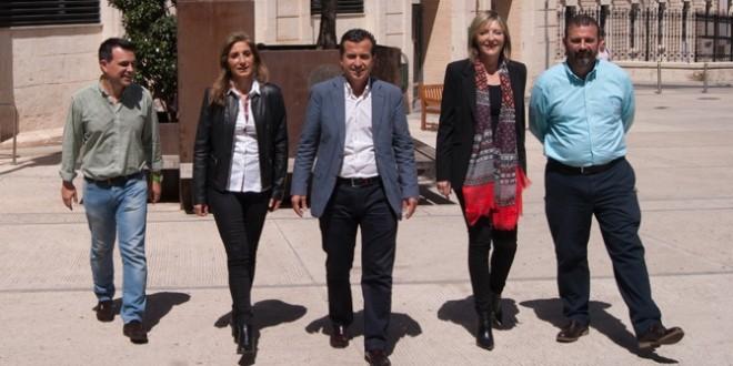 El PP da a conocer a los cinco primeros de la lista electoral