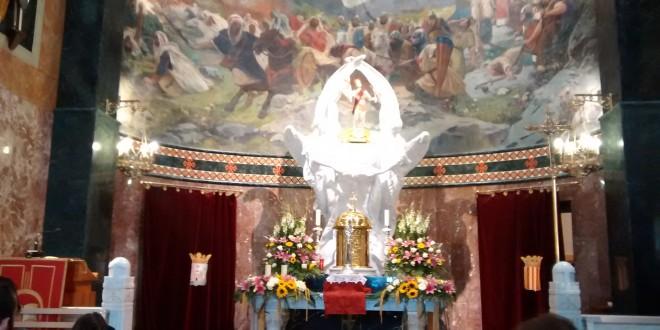 La reliquia de San Jorge llega a Alcoy