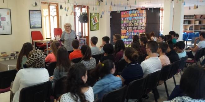 Isabel – Clara Simó invitada especial a la Festa del Llibre