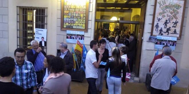 Fiesta del PP de Muro para acabar la campaña electoral