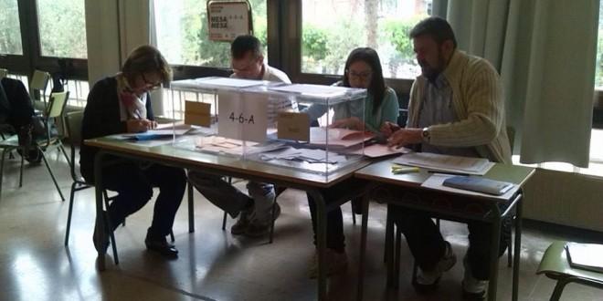 Participativa jornada electoral en Alcoy