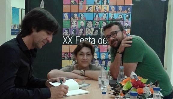 Benjamín Pardo habla de poesía en la Festa del Llibre
