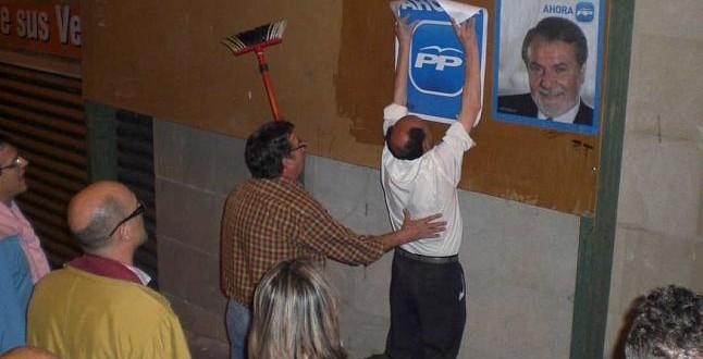 La Junta Electoral Provincial deja al PP sin poder colocar carteles en la comarca