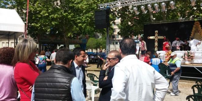 El PP presente en la misa rociera de la Feria Andaluza