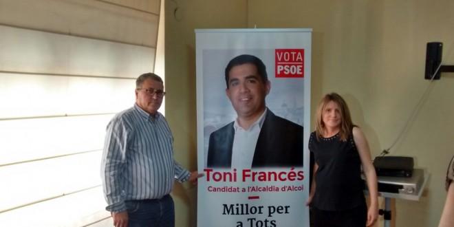El PSOE alcoyano presenta su lema de campaña