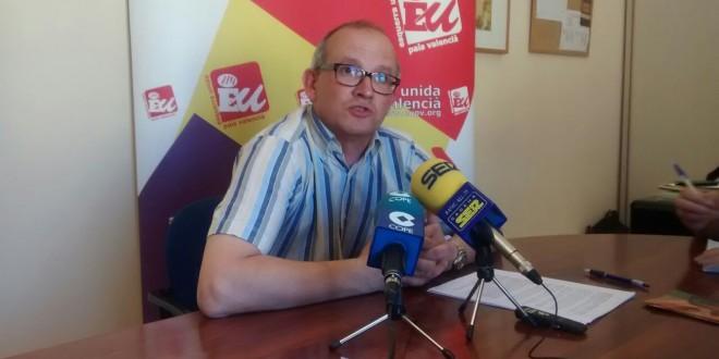 Esquerra Unida lamenta la postura del PSOE en el proyecto de la Rosaleda