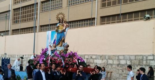 Los Salesianos recuerdan a María Auxiliadora
