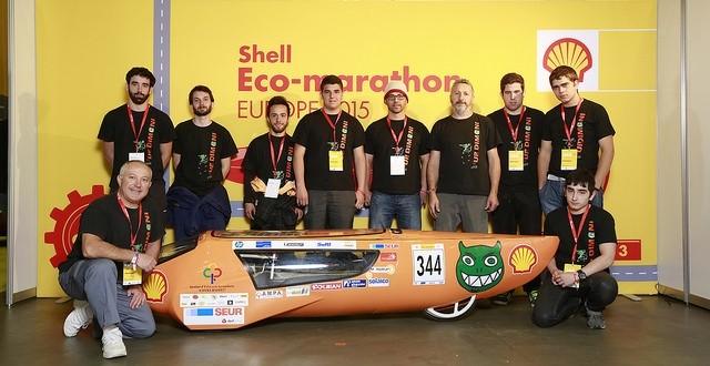 El Eco Dimoni tercer clasificado en la Shell-Maraton