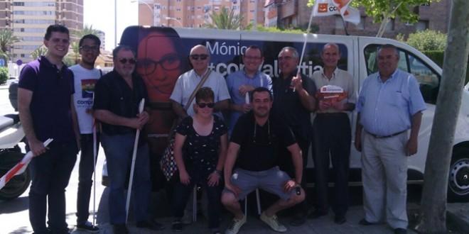 Compromís Alcoi acompaña a Mónica Oltra en Alicante