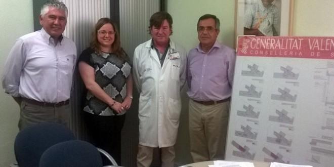 Rafael Montava conoce el proyecto de la ampliación del Centro de Salud de Cocentaina