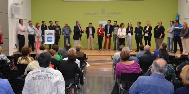 El PP Contestano clausura la campaña en el Centre Social