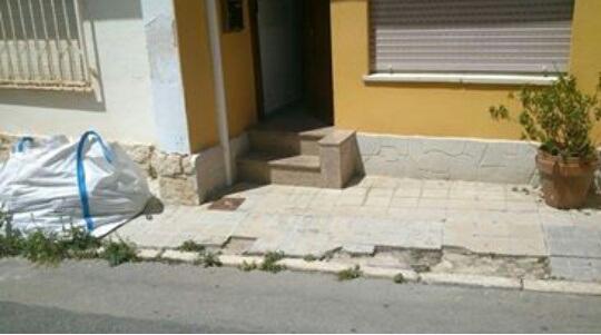 Diputación subvenciona la reparación de varias aceras