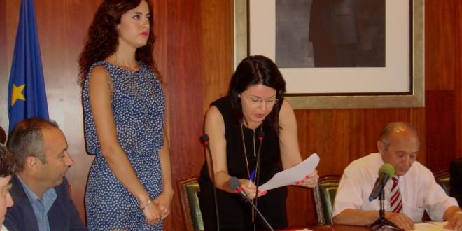 Mireia Estepa, primera alcaldesa de Cocentaina