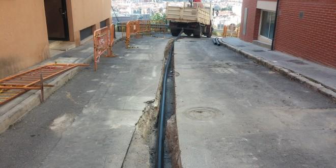 Finalizados los trabajos en la calle Doña Amalia