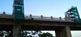 Avanzan las obras del Pont de Sant Jordi