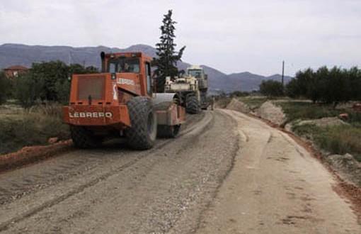 La Diputación invierte en la mejora de caminos de la Comarca