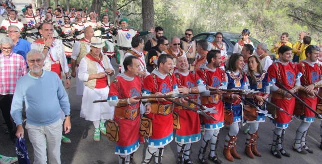 La Fiesta de Alcoy vuelve a Fontilles
