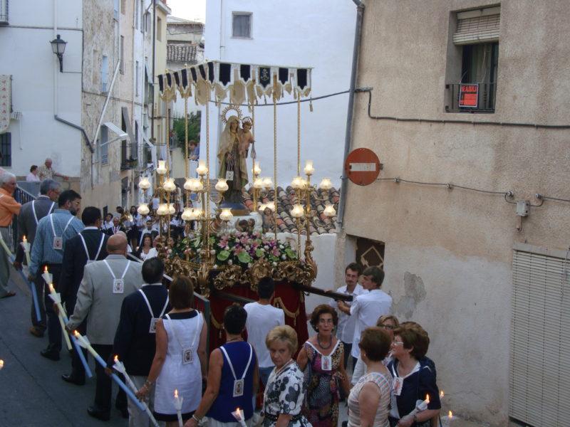 Cocentaina celebra la fiesta de la Virgen del Carmen
