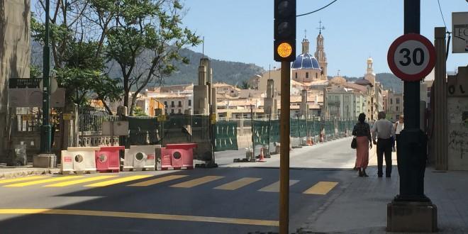 Las obras del Puente de San Jorge entran en su último tramo