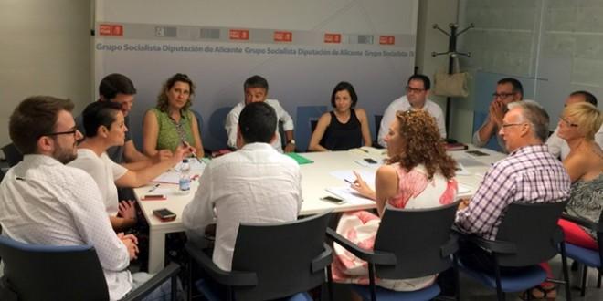 Toni Francés presidirá al grupo Socialista en la Diputación