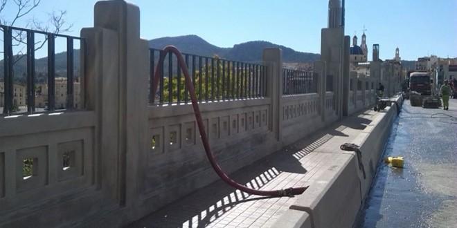 Recta final para las obras del Pont de Sant Jordi