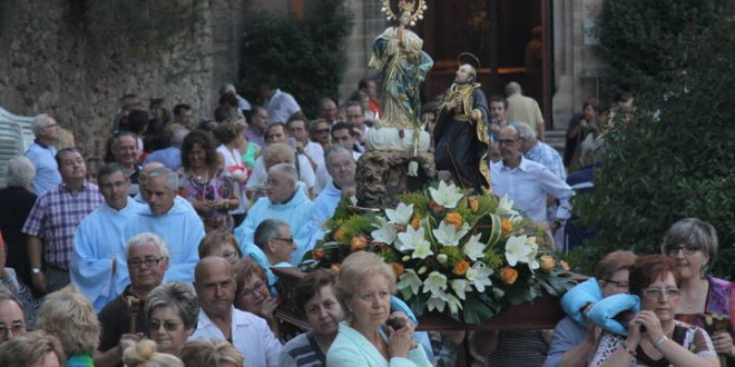 Alcoy celebra el día de la Virgen de los Lirios