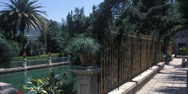 Actuación en el Jardín de Santos de Penáguila