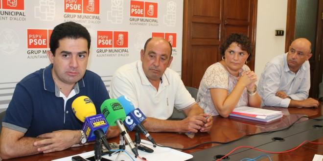 Los socialistas califican de insuficientes las inversiones del Estado en la comarca