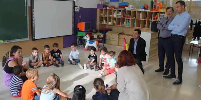 Infantil y Primaria regresan a las aulas